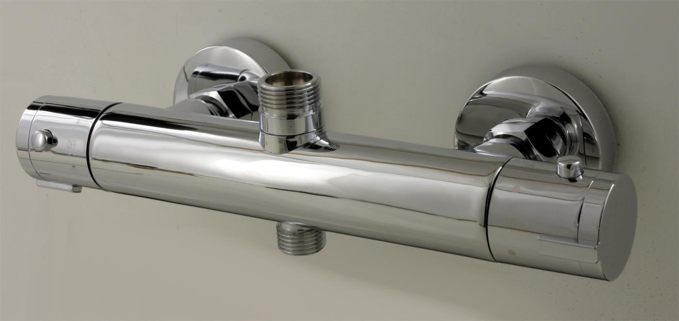 Duscharmatur Mit Thermostat : Thermostat Duschstangen Armatur Anschluss 3/4-1/2Zoll Duscharmatur