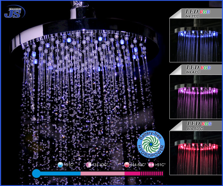 Regendusche Led : Regendusche Mit Led Beleuchtung Pictures to pin on Pinterest