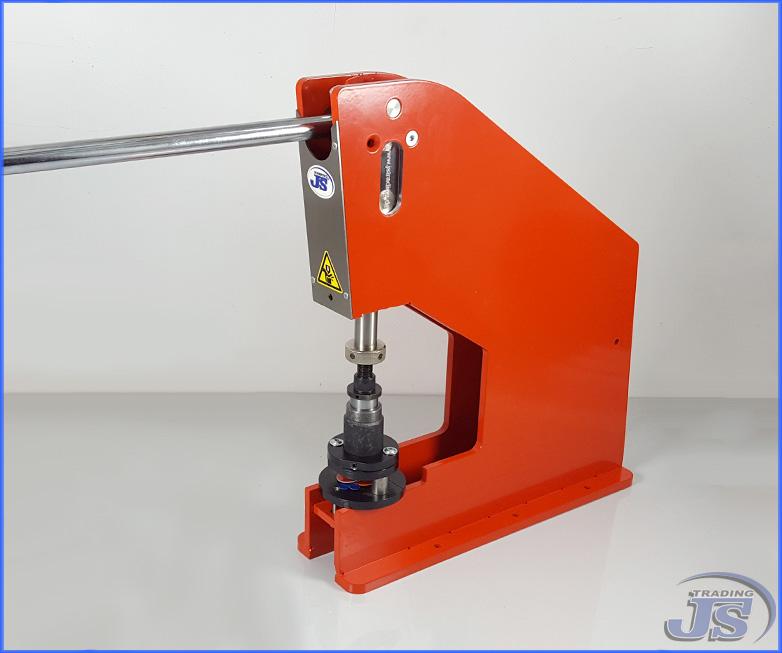Kniehebelpresse Handpresse Hp 7 Mit Blech Kunststoff Lochstanze